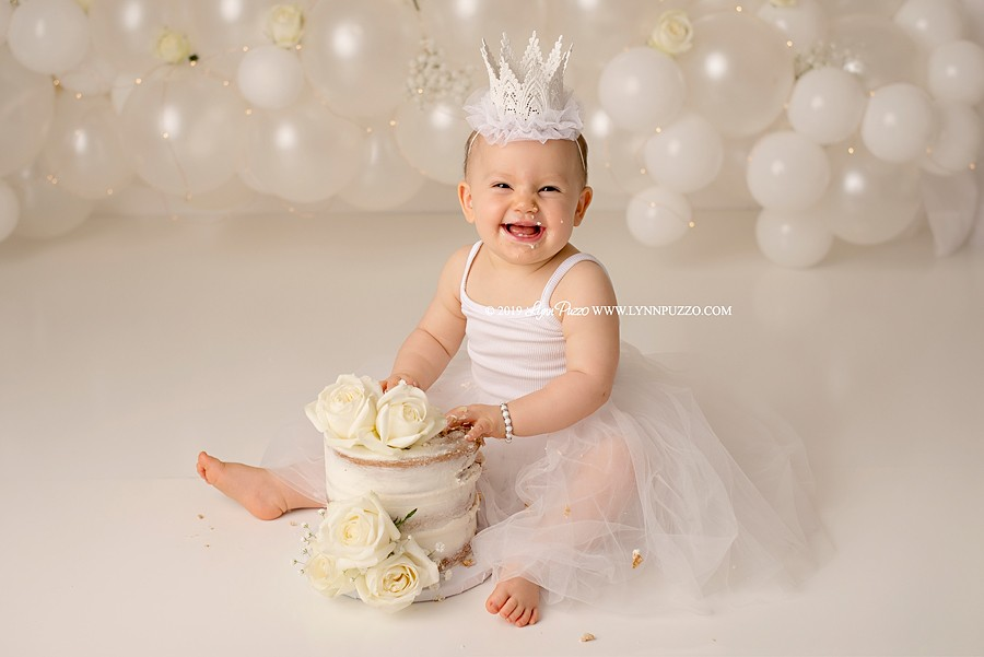Atlanta Cake Smash Photographer | Autumn